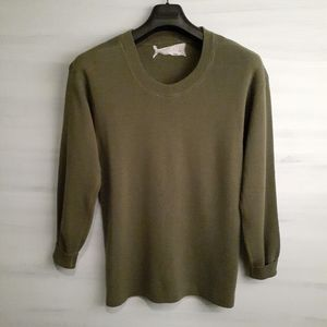 Vintage Military Sweater Wool-Blend